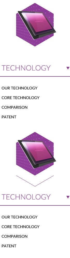 Technology 1.Our technology 2.Core technology 3. Comparison 4.Patent